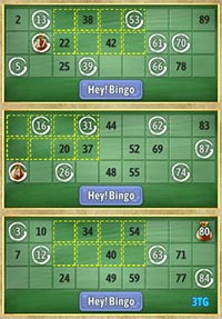 image relating to Free Printable Bingo Cards 1 75 referred to as Cost-free Bingo Video games On line at